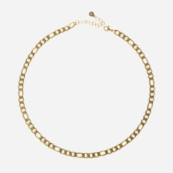 Figaro chain necklace gold